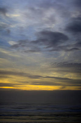 Oregon Photograph - Sunset Abstract 1 by Michael DeMello