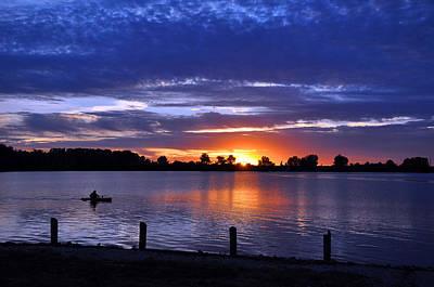 Creve Coeur Park Photograph - Sunset At Creve Coeur Park by Matthew Chapman