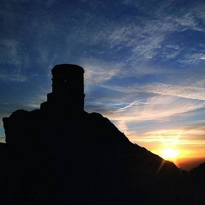 Fairy Photograph - Sunset At Mow Cop by Phil Tomlinson