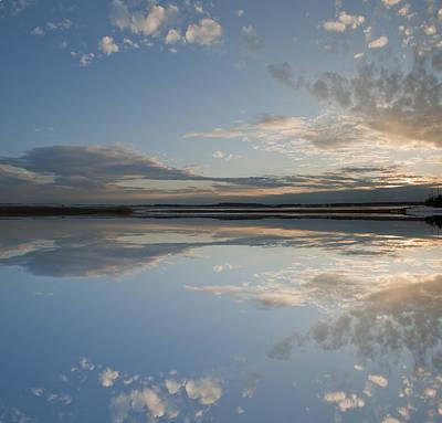 Sunset At Plum Island Print by Rick Mosher