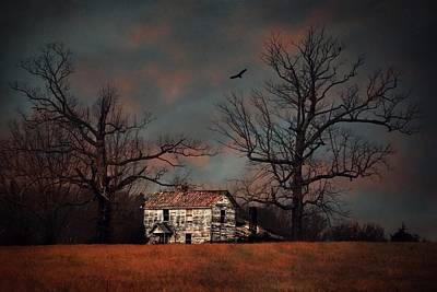Sunset Photograph - Sunset At The Homestead by Emily Stauring
