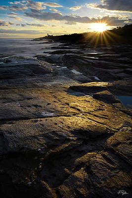 Sunset Beyond Print by Lourry Legarde