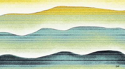 Sunset Print by Brenda Bryant