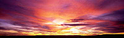 Chelly Photograph - Sunset, Canyon De Chelly, Arizona, Usa by Panoramic Images