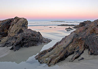 Sunset Photograph - Sunset  Denhams Beach. by Steven Ralser