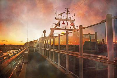 Sunset Print by Betsy Knapp