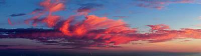 Sunset From Haleakala Print by Babak Tafreshi