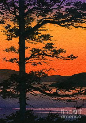 Sunset Glow Print by James Williamson