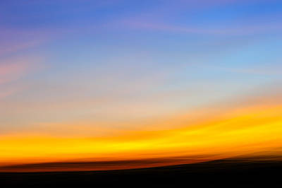 D700 Photograph - Sunset In Abstract No.2 by Chris Modlin