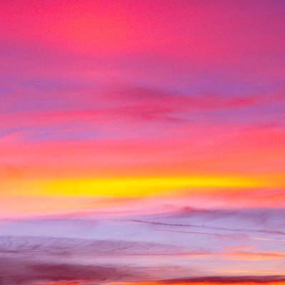 Sunset In Florda Print by Dennis Dugan