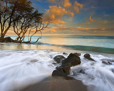 Sunset In Paradise Print by Mike  Dawson