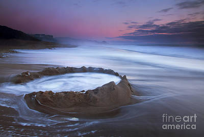 Beach Photograph - Sunset Maelstrom by Mike  Dawson