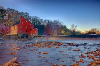 Mill Photograph - Sunset Mill by Ryan Crane