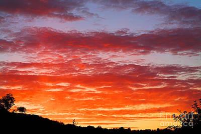 Sunset Print by Natalie Kinnear