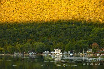 Sunset On Canandaigua Lake Original by Steve Clough