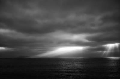 Clouds Photograph - Sunset Over Coronado Islands by Hugh Smith