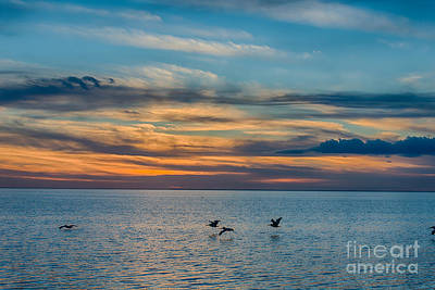 Landscape Photograph - Sunset Over The Bay  by Tod and Cynthia Grubbs