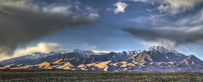 Great Sand Dunes National Park Photograph - Sunset Over The Dunes by Aaron Spong