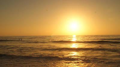 Landskape Photograph - Sunset by Viorica Bivol