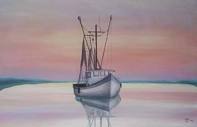 Painting - Sunset by Virginia Bond
