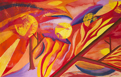 Abstract Painting - Sunsets by Sean Corcoran