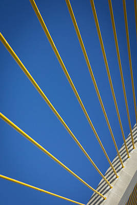 Sunshine Skyway Bridge 1 Print by Seth Carper