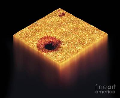 Fusing Photograph - Sunspot, Artwork by Carlos Clarivan