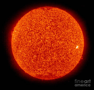 Heavenly Body Photograph - Sunspots, Solar Cycle 24, Soho, 2009 by Science Source