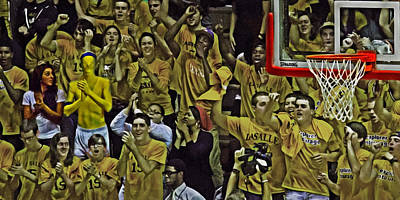 Courtside Photograph - Super Fans by Tom Gari Gallery-Three-Photography