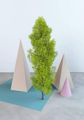 Installation Digital Art - Super Nature by Pollyanna Illustration