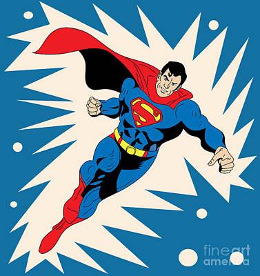 The Joker Digital Art - Superman 8 by Mark Ashkenazi