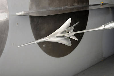 Supersonic Plane Concept Testing Print by Nasa/dominic Hart