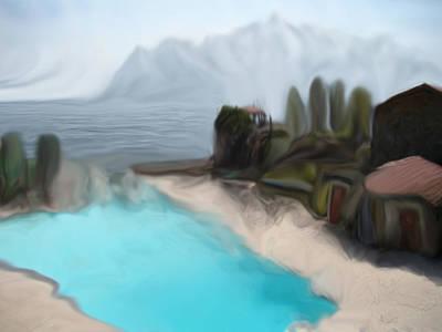 Renoir Mixed Media - Sur La Mer  C#  72 by Viggo Mortensen
