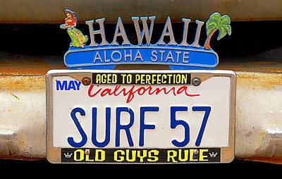 Surf 57 Print by Ron Regalado