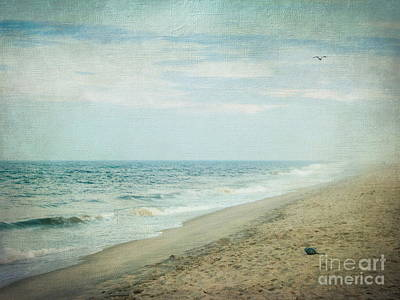 Surf And Sand Print by Colleen Kammerer