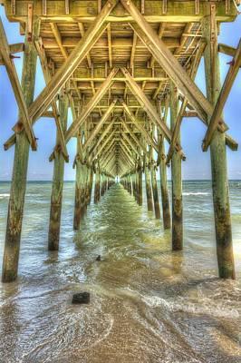 Surf City Pier Original by Chris Modlin