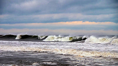 July 4 Photograph - Surf City Surf by Mark Miller