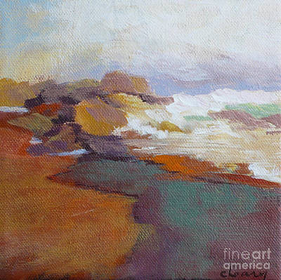 Contemporary Seascape Art Painting - Surf by Melody Cleary