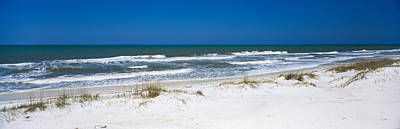 Florida State Photograph - Surf On The Beach, St. Joseph Peninsula by Panoramic Images