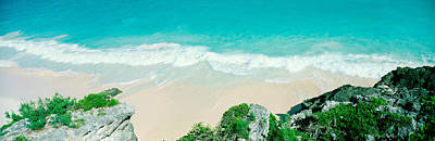 Bermuda Photograph - Surf On The Shore, Bermuda, Usa by Panoramic Images