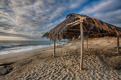 Shack Photograph - Surf Shack by Peter Tellone