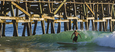 San Clemente Surfing Photograph - Surfer Dude 1 by Scott Campbell
