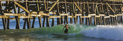 San Clemente Surfing Photograph - Surfer Dude 3 by Scott Campbell