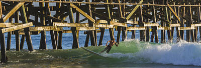 San Clemente Surfing Photograph - Surfer Dude 4 by Scott Campbell