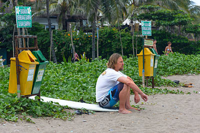 Extreme Restaurant Photograph - Surfing Bali by Michael  Guercio