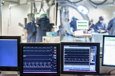 Monitor Photograph - Surgical Monitors by Arno Massee