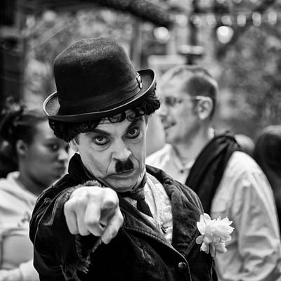 Black Photograph - Surprise by Louis Dallara