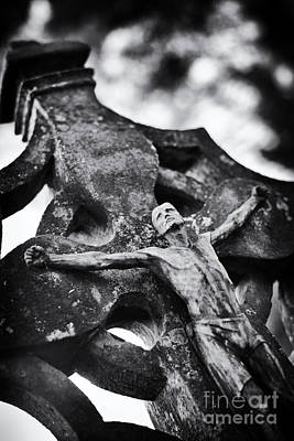 Crucified Photograph - Surrender by Tim Gainey