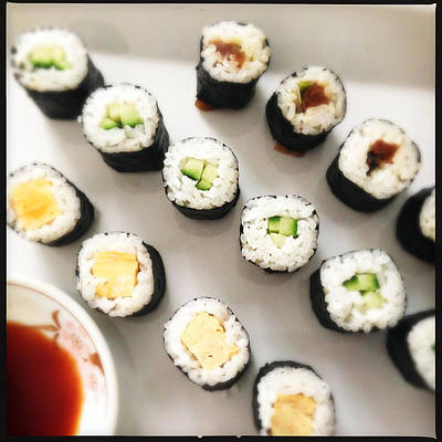 Food And Beverage Photograph - Sushi by Matthias Hauser