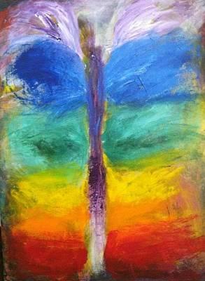 Tantra Painting - Sushumna by Bebe Brookman